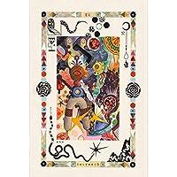 ジグソーパズル1000ピース大人,挑戦的な難しいゲームおもちゃ,日本木製パズル,落書き抽象的な装飾壁画,子供向けクリエイティブギフト,010