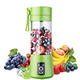 Portable Blender, Personal Blender, Small Fruit Mixer with 6 Blades, Electric USB Rechargeable...