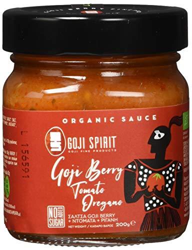 GOJI SPIRIT Bio Sauce mit Goji-Beere, Tomaten und Oregano (2 x 200g), 400 g