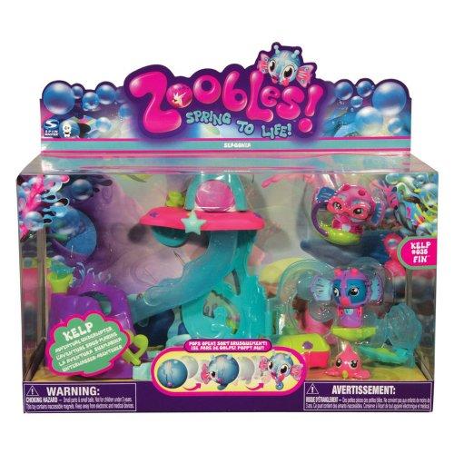 Zoobles Playset Kelp's Underwater Adventure