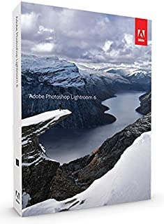 【旧製品】Adobe Photoshop Lightroom 6(写真現像ソフト)