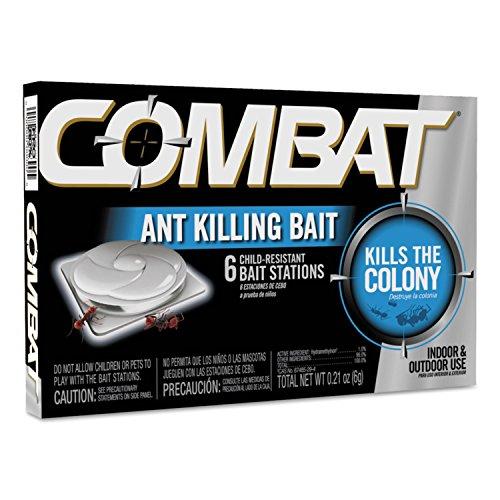 Price comparison product image Combat 45901 Combat Ant Killing System- Child-Resistant- Kills Queen Colony- 6 / Box