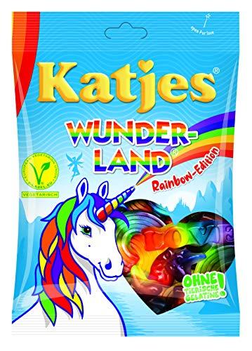 Katjes Wunderland Rainbow-Edition - Leckeres Fruchtgummi in magischen Formen und Farben - inspiriert...