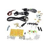 KKmoon Altavoz de la música electrónica de sonido con amplificador DIY y transparente bricolaje altavoz