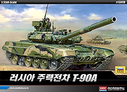1 35 Russian T-90A Main Battle Tank  13418 ACADEMY HOBBY MODEL KITS by Academy Models