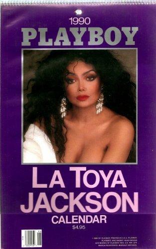 1990 PLAYBOY CALENDAR LATOYA JACKSON