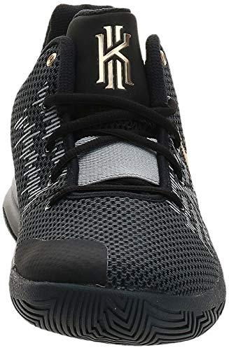 Nike Kyrie Flytrap II, Zapatos de Baloncesto Hombre, Multicolor (Black/Metallic Gold/Anthracite 004), 43 EU