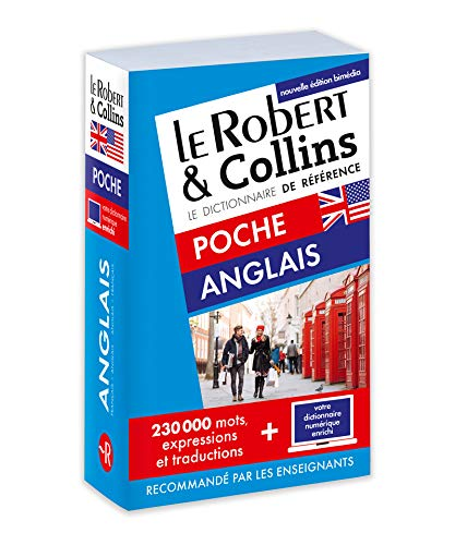 Dictionnaire Le Robert & Collins Poche Anglais et sa version numérique à télécharger PC