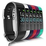 Smartwatch Activity Tracker Fitness Uomo Donna misuratore di pressione da polso Cardiofrequenzimetro Orologio Contapassi IP68 Sveglia Bluetooth Touch Conta Calorie monitor del sonno Adroid iOS Win