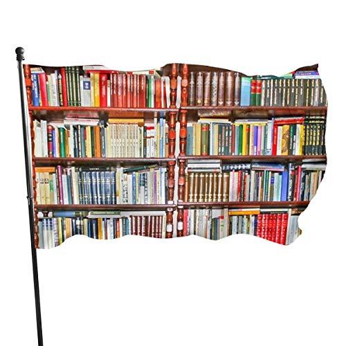N/A American Guard Vlag Banner Home Vlaggen Veel Boek Boekenplank Verticale Garde voor Familie Patio College Decoratie 3x5 Voet