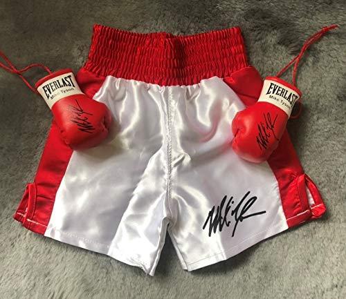 GB Falconry Autogrammierte Mike Tyson Baby Boxing Shorts für Babys von 12 Monaten