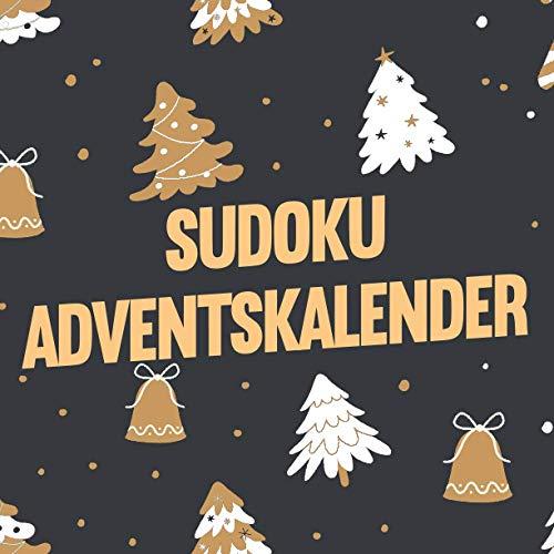 Sudoku Adventskalender: XXL Weihnachtskalender mit insgesamt 288 Sudoku Rätseln in 3 Schwierigkeitsstufen - 12 neue Rätsel jeden Tag - Sudoku Rätselheft für erwachsene Frauen und Männer sowie Kinder