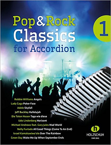 Pop & Rock Classics for Accordion 1: Band 1
