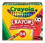 CRAYOLA Crayola-52-6448 Set 64 Ceras 14x12cm, Multicolor (52-6448)
