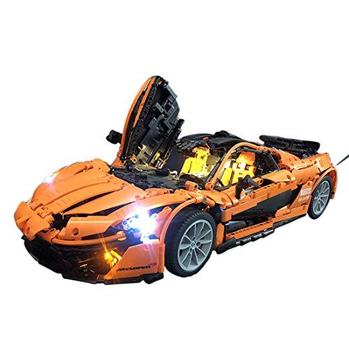 NURICH Licht Set für Lego 75880 Speed Champions McLaren 720S, USB Stecker, passen zum Lego 75880