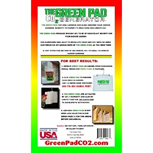 Green Pad Co2 Generator Grand Daddy Pad (GDP), 2 Pack