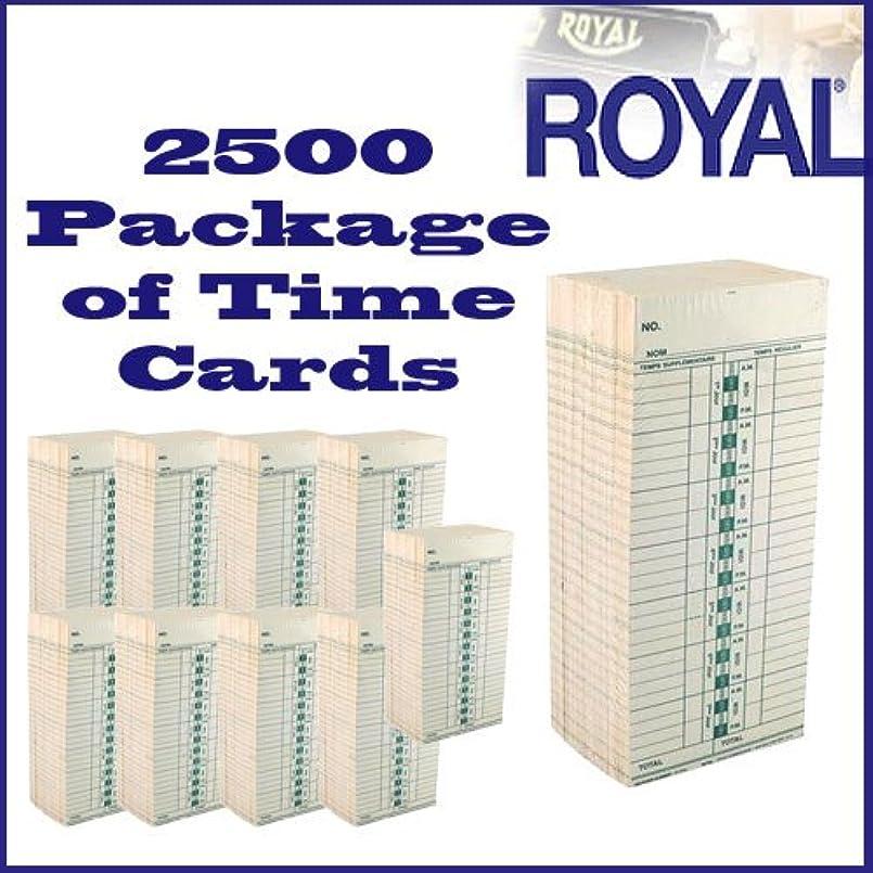 祖先宇宙飛行士直面するロイヤル2500の時間カードのパッケージtc100?/ tc200時間クロック