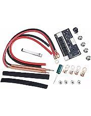 18650 Battery Spot Welder Set, Portable Battery Spot Welding Kit, 12 V DIY Spot Welding Machine Kit med PCB Circuit Board,Mini batteri 18650/26650/32650 for Domestic Welding, DIY