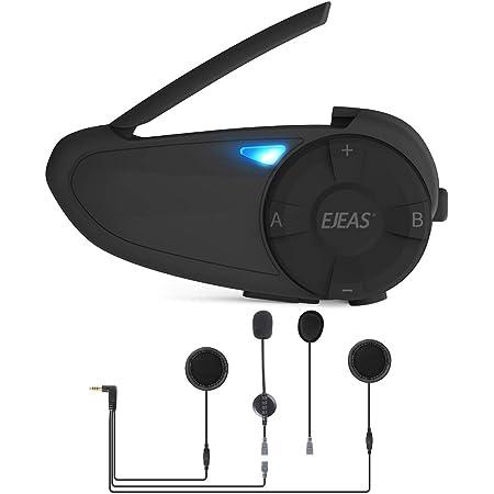 Ejeas Q7 Motorrad Gegensprechanlage Bluetooth 5 0 Elektronik