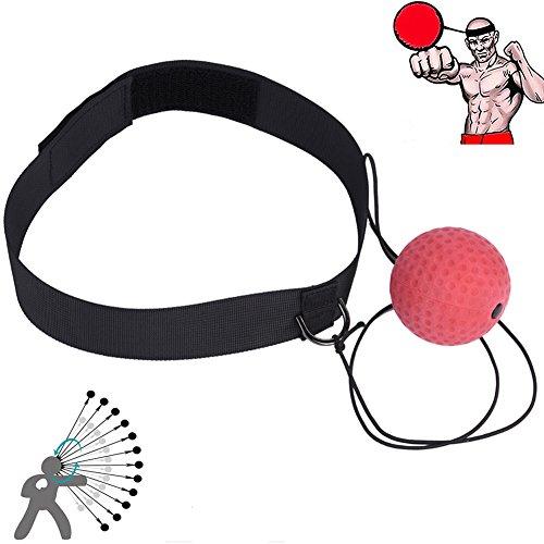Ueasy Reflex Boxen Fight Ball Arm Kraft Balance Praxis Ball Große, verbessern Reaktionen und Speed