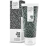 Australian Bodycare Body Balm for Women & Men 200ml | Tea Tree Oil Aftershave for Ingrown Hairs, Razor Bumps and Razor Burn | Immediate Relief after Shaving | Perfect for Body Hair Removal and Shaving
