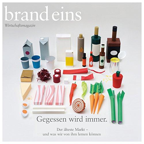 brand eins audio: Essen audiobook cover art