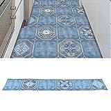 Adhesivo para azulejos, adhesivo para piso 7.87 X 47.24in para sala de estar para pasillo