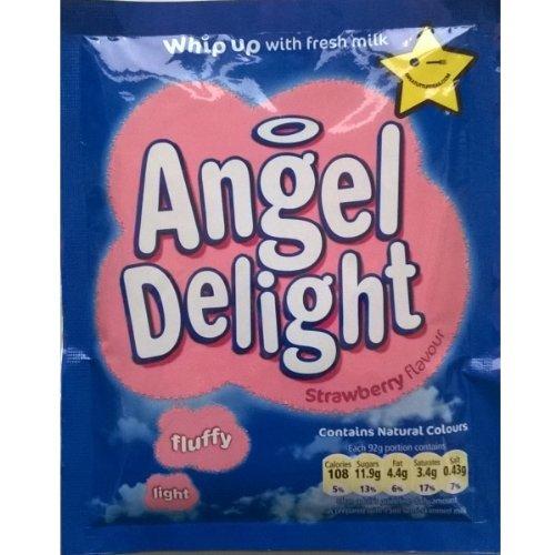 Oiseaux Angel Delight Strawberry Flavour 6 x 59gm
