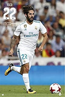 Real Madrid - Soccer/Sports Poster/Print (Team Photo Season 2017/2018) (Size: 24 inches x 36 inches)