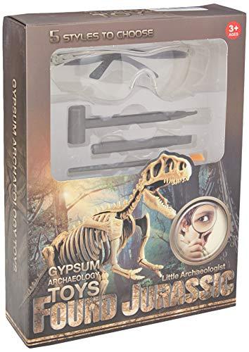 REDO Dinosauro Fossile giocattolo archeologico di scavo Dino, kit di scavo fossili per bambini, miglior regalo per ragazzi e ragazze (stegosauro)