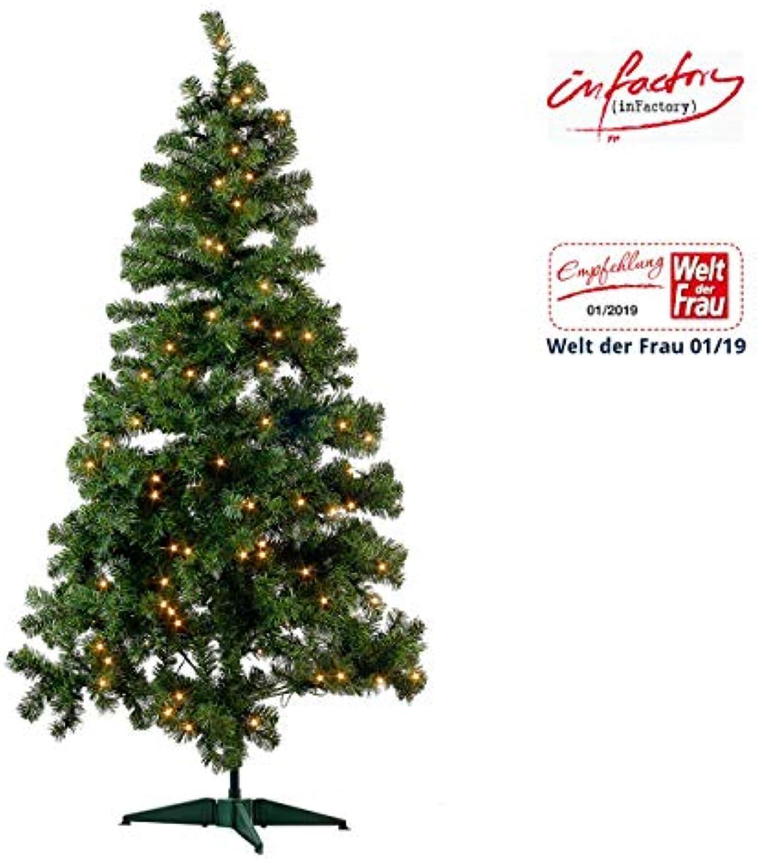 Künstlicher Weihnachtsbaum Outdoor.Infactory Christbaum Künstlicher Weihnachtsbaum Grün 180cm 465