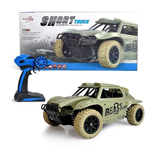 Maximum RC Ferngesteuertes Auto für Kinder ab 8 - 4WD Short Course Truck - Wüstenbuggy mit proportionaler Beschleunigung und Allradantrieb*