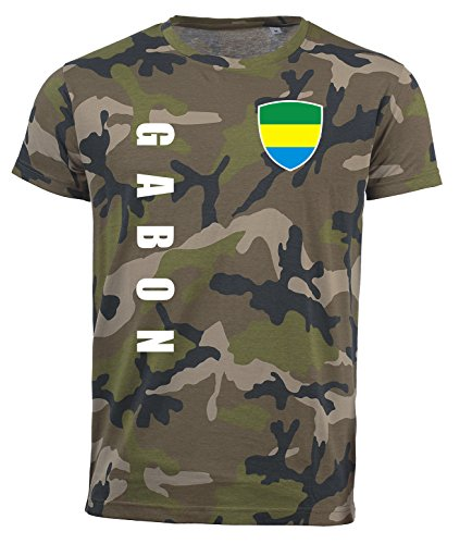 aprom Gabun T-Shirt Camouflage Trikot Look Army Sp/A (S)