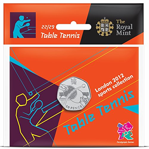 London 2012 50p Sports Collection - Table Tennis