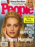 PEOPLE MAGAZINE - OCTOBER 18, 2021 - CHILLING NEW DETAILS - WHAT REALLY HAPPENED TO BRITTANY MURPHY?