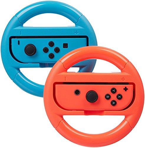 Volante para el Controlador de Interruptor para Nintendo, Juego de Carreras Manipulate Grip Steering for…