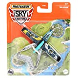 Matchbox Sky Busters Sea Arrow, Silver and Blue