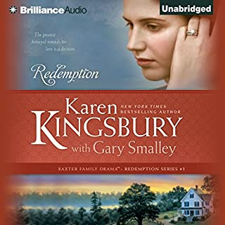 Redemption     Redemption Series, Book 1              By:                                                                                                                                 Karen Kingsbury,                                                                                        Gary Smalley                               Narrated by:                                                                                                                                 Sandra Burr                      Length: 12 hrs and 36 mins     434 ratings     Overall 4.6