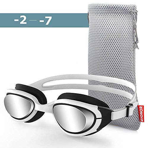 ZIONOR G7 Optical Swimming Goggles (Tinted -3.5)