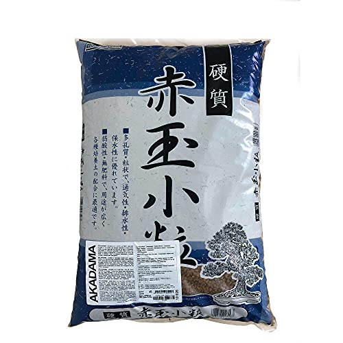 Akadama sustrato bonsai 14L Grano medio Tochimi-Green