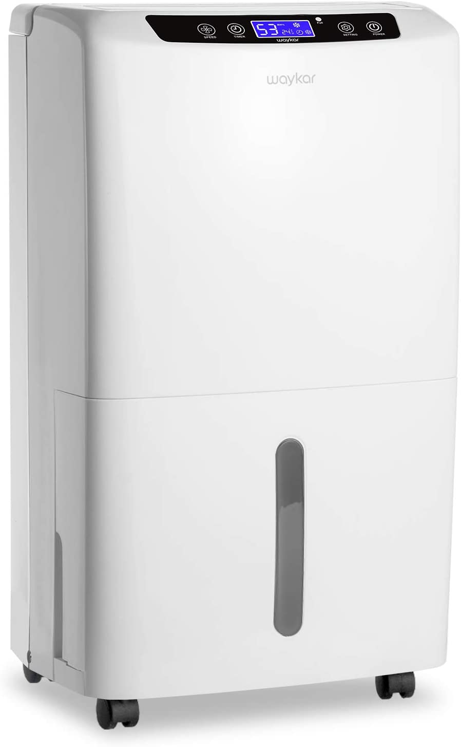Waykar Super sale period limited 2000 Sq. Ft Dehumidifier for Bedroom Special sale item Home with Basements