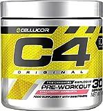 C4 Original - Suplemento en polvo para preentrenamiento - Margarita de fresa | Bebida energética para antes de entrenar | 150mg de cafeína + beta alanina + monohidrato de creatina | 30 raciones