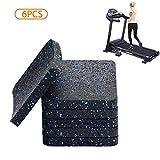 BestXD Treadmill Mat, Exercise Equipment Mat with High Density Rubber