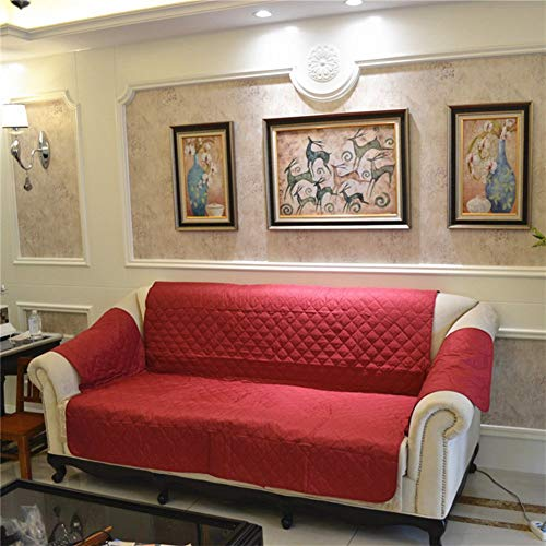 YLCJ Huisdierafdekking voor bankbeschermer, Amerikaanse beschermhoes sofa, waterdicht, omschakelbaar bankovertrek, A-sofa