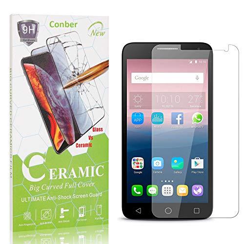Conber, 1 Pezzi, Pellicola Vetro Temperato per Huawei Ascend Y550, [9H Durezza][Senza Bolle][HD Chiaro] Protezione Schermo Pellicola Protettiva per Huawei Ascend Y550