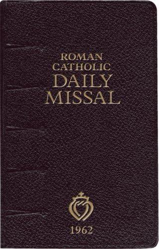 Roman Catholic Daily Missal 1962 product image