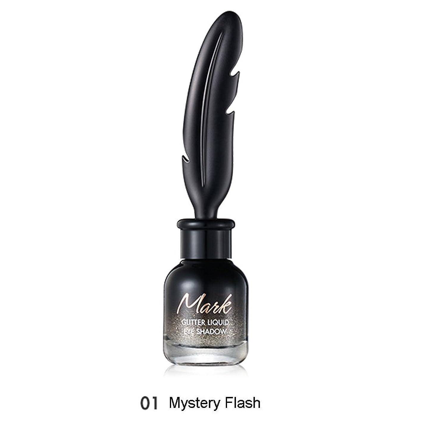 夜明けに病者空いているトニモリー TONYMOLY Mark Glitter Liquid Eye Shadow #01 Mystery Flash