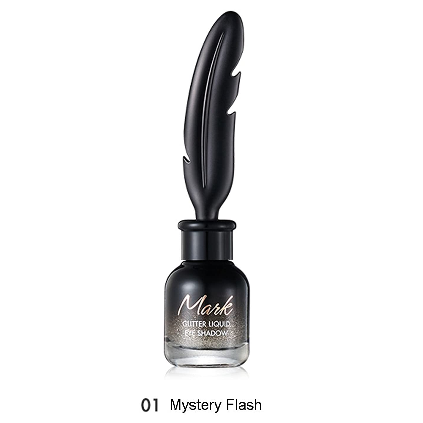 造船二年生不要トニモリー TONYMOLY Mark Glitter Liquid Eye Shadow #01 Mystery Flash