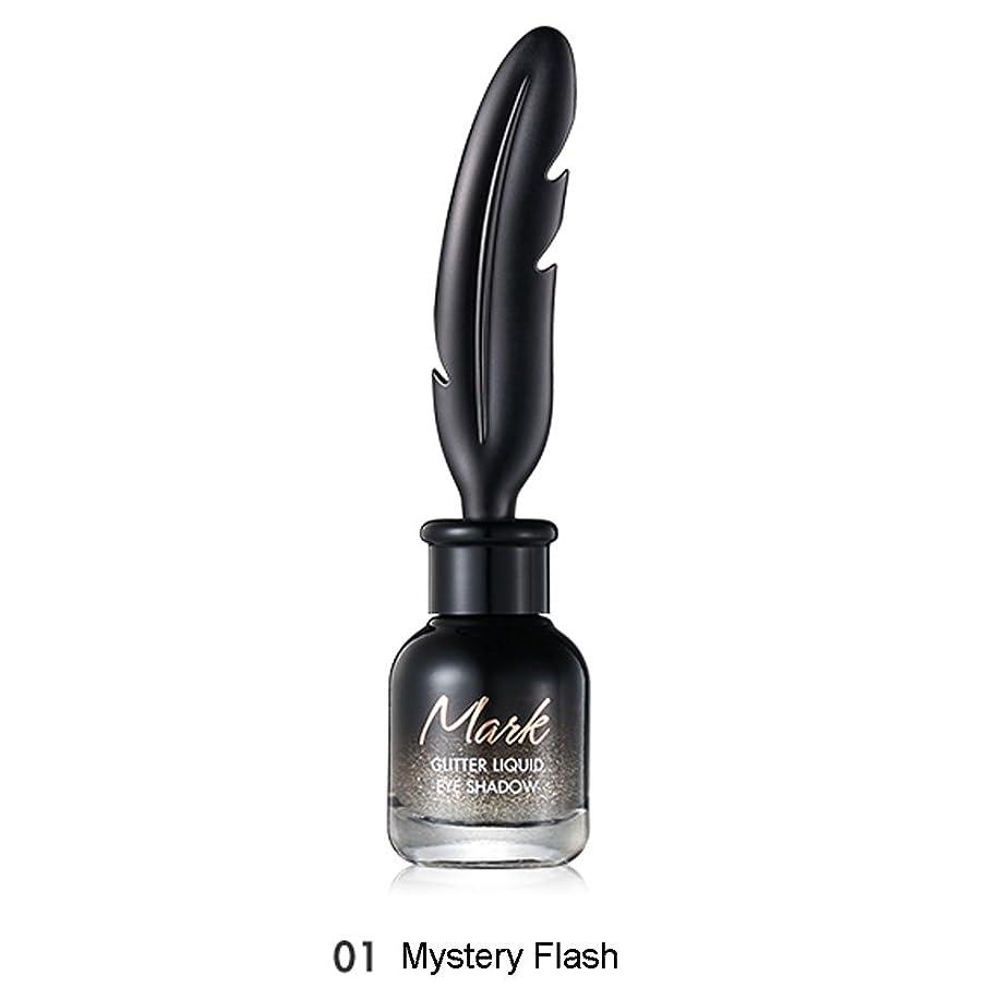 合意ナンセンス自己尊重トニモリー TONYMOLY Mark Glitter Liquid Eye Shadow #01 Mystery Flash
