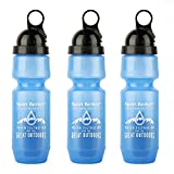 Berkey Sport Filtered Water Bottle BPA Free Portable 22oz New 2018 Model (Pack of 3)